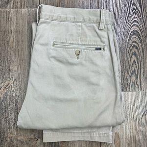 Ralph Lauren Polo Classic Fit Khaki Chino Pants